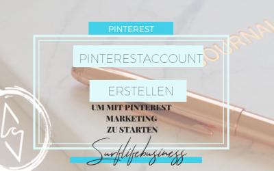 Pinterestaccount erstellen